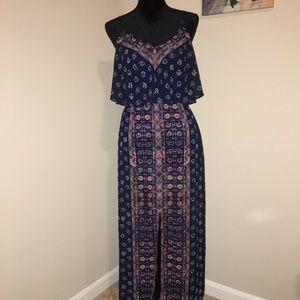 Express Patterned Maxi Dress